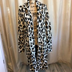 Long Animal print jacket
